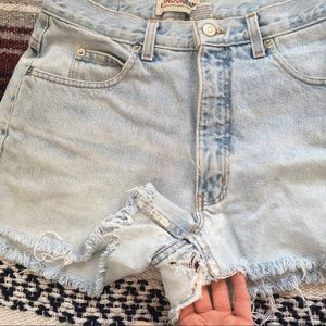 LONDONJEAN Shorts - Vintage London Jean cutoff shorts